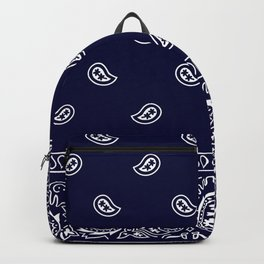 Bandana - Navy Blue - Southwestern Backpack