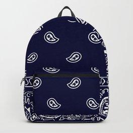 Bandana - Navy Blue - Southwestern Backpack