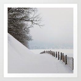 Snow Boutique Art Print