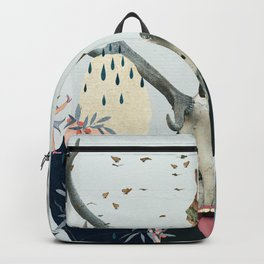 Waiting Together Alone Backpack