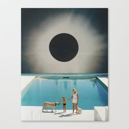 MIDNIGHT POOL Canvas Print