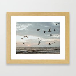 Beyond The Sea Framed Art Print