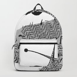 Inked Butterfly-1 Backpack