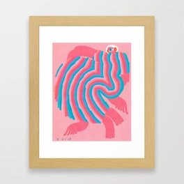 When A Man Tells Me Not All Men Are Trash Framed Art Print