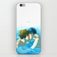 iwatobi iPhone & iPod Skins featuring free! by Rolic