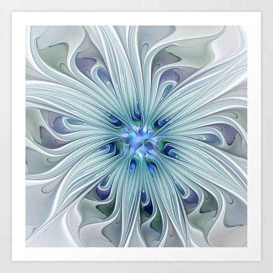 Another Floral Beauty Art Print