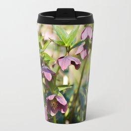 Helleborre purple dark bloom Travel Mug