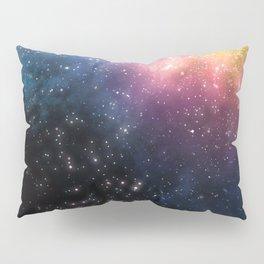 Stars and Nebulas Pillow Sham