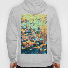 Colorful Lily Pads And River Grass Hoody