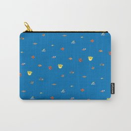 Bright and bold fish aquarium Carry-All Pouch