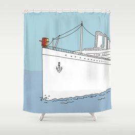I'll Never Let Go (The Movie) Shower Curtain