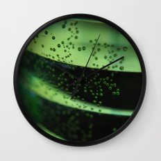 a look through the glass Wall Clock