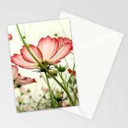 TENDER RED BLOSSOMS v2 Stationery Cards