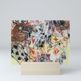 In the cards Mini Art Print