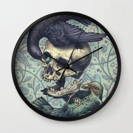 Bowerbirds Wall Clock