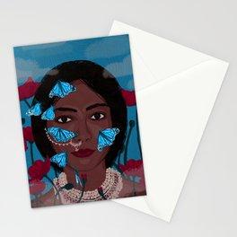 Dark Beauty Stationery Cards