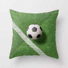 BALLS / Football Throw Pillow