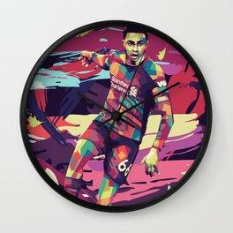 Trent Alexander on WPAP Pop Art Portrait Wall Clock