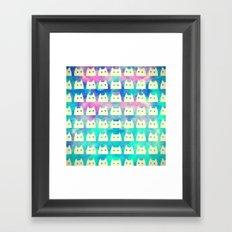 cat-498 Framed Art Print