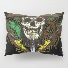 Pirate skull Pillow Sham