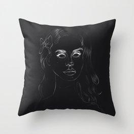 Negative Lana Throw Pillow