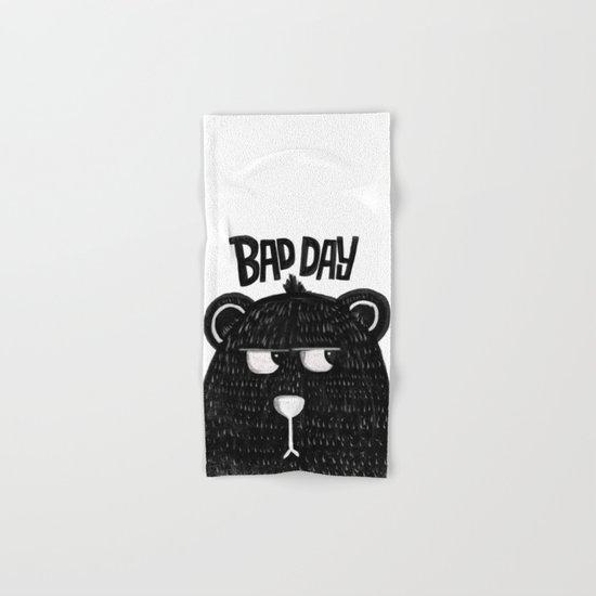 BAD DAY BEAR Hand & Bath Towel