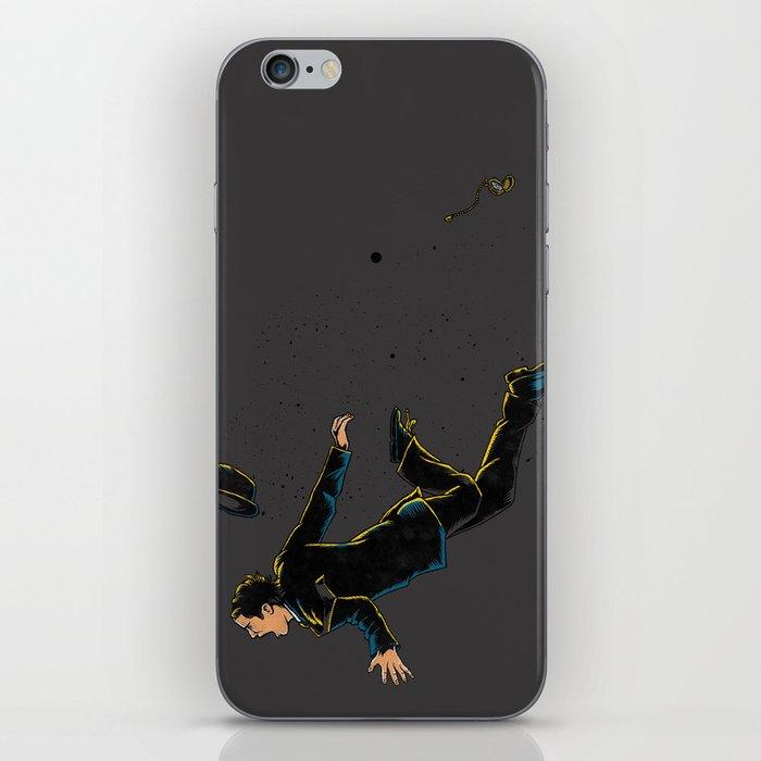 Falling Time iPhone Skin