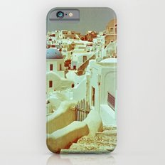 Santorini in Raspberry and Blue II: shot using Revolog 600nm special effects film iPhone 6s Slim Case