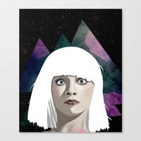 chandelier Canvas Prints featuring Chandelier by Vuelle