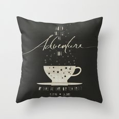 Peter Pan Literary Quote Throw Pillow