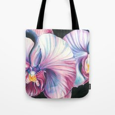 Pink Orchid Study Tote Bag