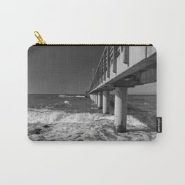 Sea Geometry Carry-All Pouch