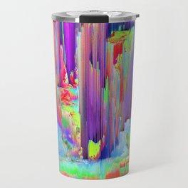 Pixel Sorting 43 Travel Mug