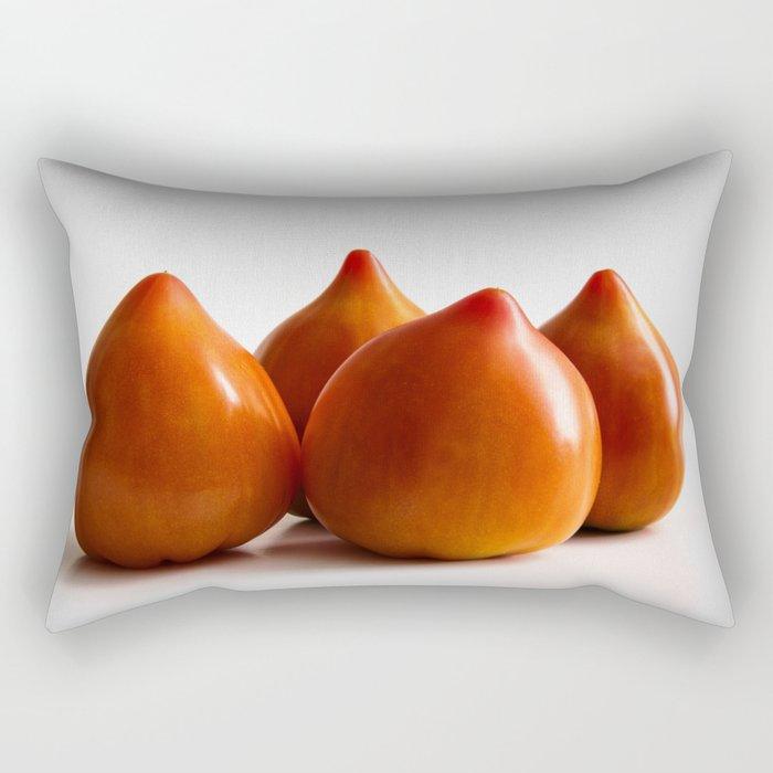 Les tomates Rectangular Pillow