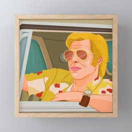 Once Upon A Time in Hollywood Cliff Booth Framed Mini Art Print