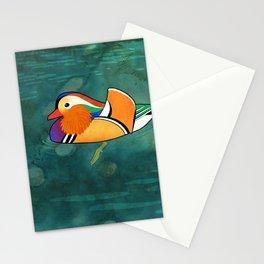 Mandarin Duck (Aix galericulata) Stationery Cards