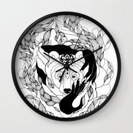Glam-Bear Wall Clock