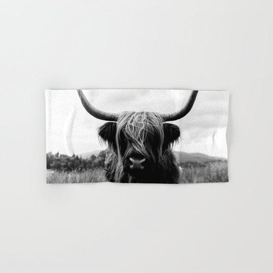 Scottish Highland Cattle Black and White Animal by regnumsaturni