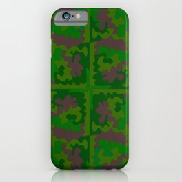Camo Leaves iPhone Case
