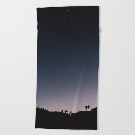 Mexico Moon V Beach Towel