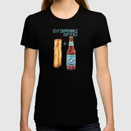 Food Pun - Sexy Chip 'N' Ale T-shirt