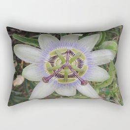 Passion Flower Blossom Rectangular Pillow