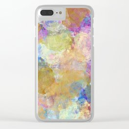 Beautiful Textures Clear iPhone Case