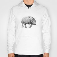 hippo Hoodies featuring Hippo by 1 of 20
