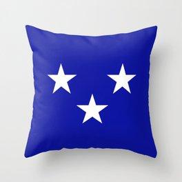 Moray county flag Throw Pillow