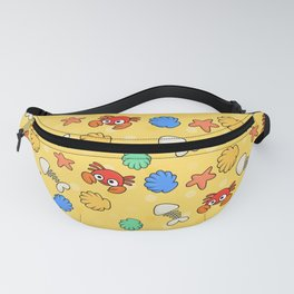 Crabs Pattern Fanny Pack