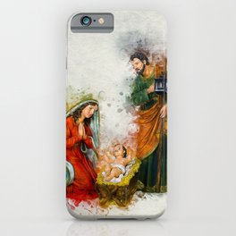 Jesus Is Born iPhone Case