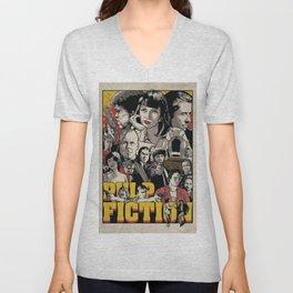 Pulp Fiction Movie Poster - Quentin Tarantino Unisex V-Neck