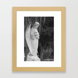 Angel Statue 2 Framed Art Print