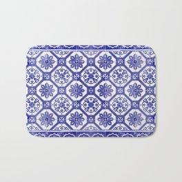 Portuguese tiles Bath Mat